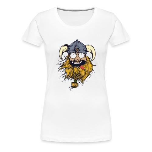Crazy Viking - Frauen Premium T-Shirt