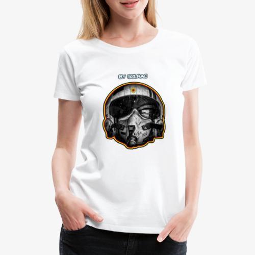SOLRAC Pilot Air Force - Camiseta premium mujer