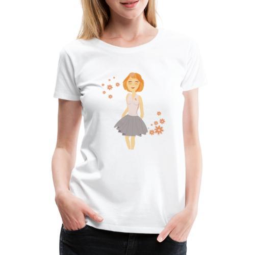 roodharig meisje - T-shirt Premium Femme