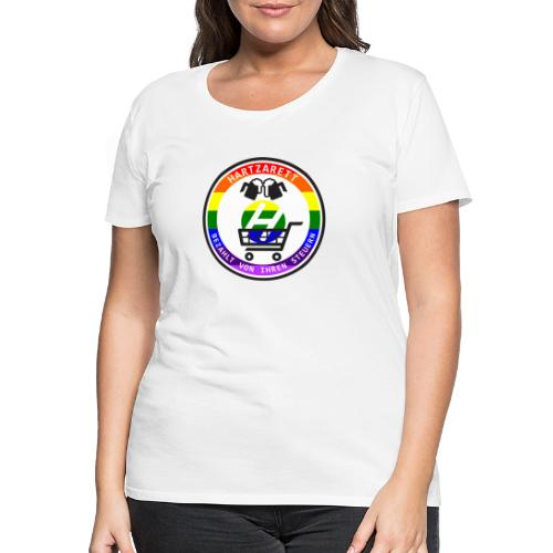 Hartzarett Pride - Frauen Premium T-Shirt