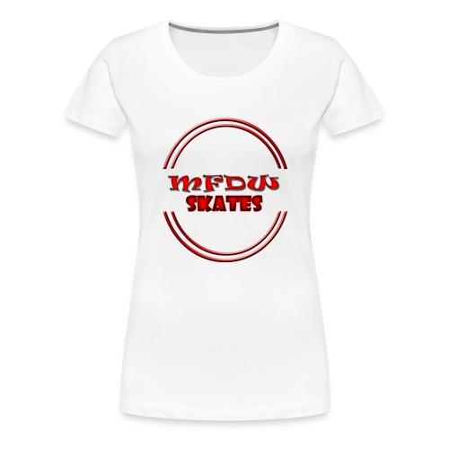 mfdw skates logo - Women's Premium T-Shirt