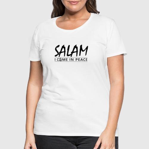 SALAM png - Dame premium T-shirt