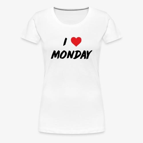 Monday - Maglietta Premium da donna