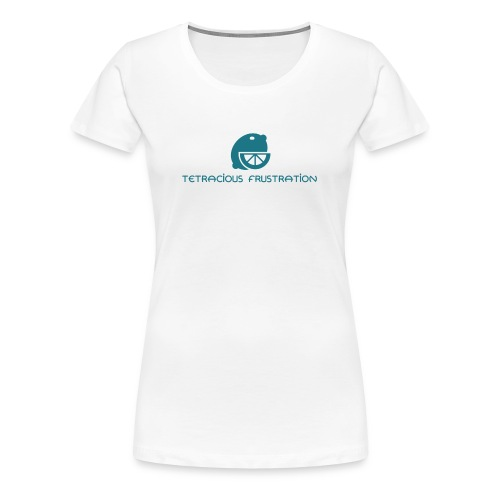 Coloured Tetracious Logo - Women's Premium T-Shirt