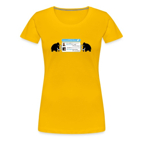 homo-sapiens et néandertal - T-shirt Premium Femme