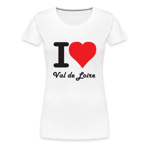 lovevaldeloirecolors - T-shirt Premium Femme
