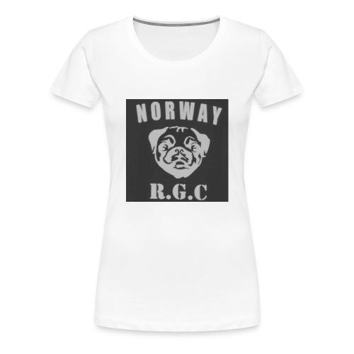 rgc hovedmerke - Premium T-skjorte for kvinner