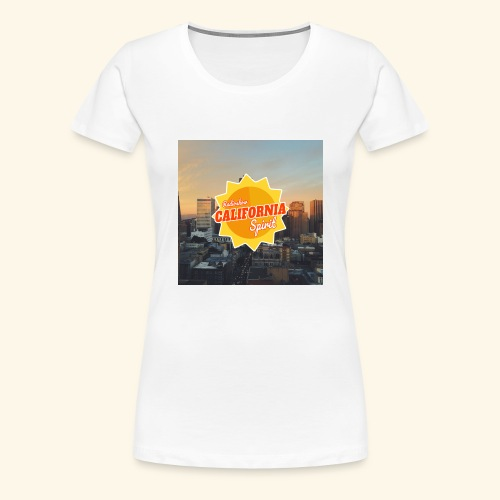California Spirit City - T-shirt Premium Femme