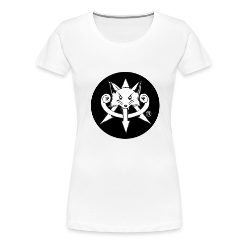 Official Attention Logo Merch - Women's Premium T-Shirt