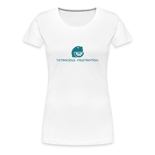 Coloured Tetracious Logo - Women's Premium T-Shirt