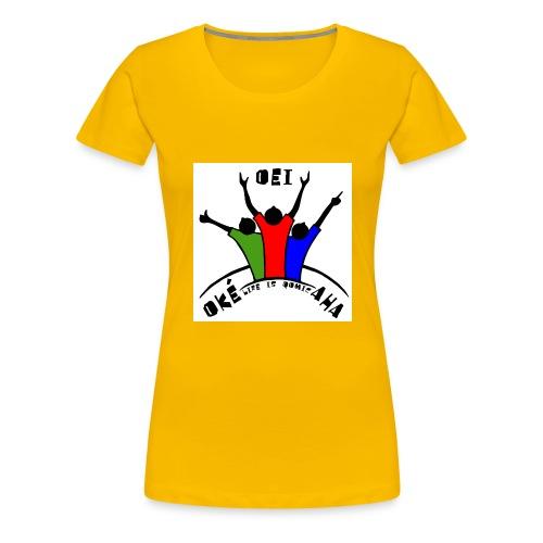 HIB02 jpg - Vrouwen Premium T-shirt