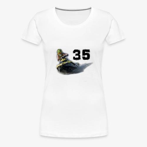 jetski35 - Naisten premium t-paita