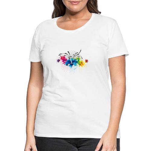 flower8 - Frauen Premium T-Shirt