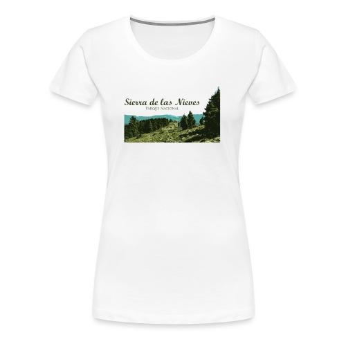 Sierra de las Nieves Parque Nacional - Camiseta premium mujer