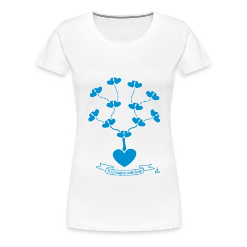 genealogy_dit - Women's Premium T-Shirt