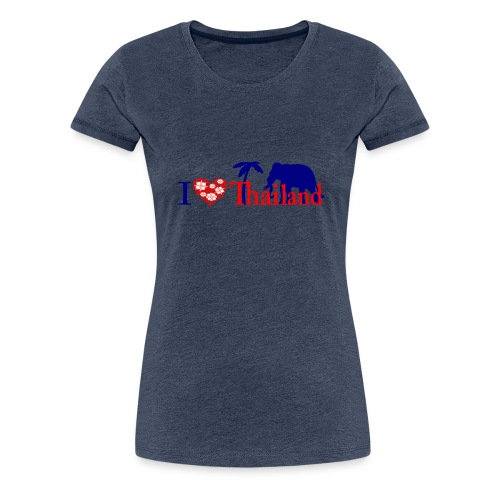 I love Thailand - Women's Premium T-Shirt