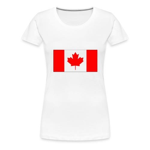 Kanada Fahne - Frauen Premium T-Shirt
