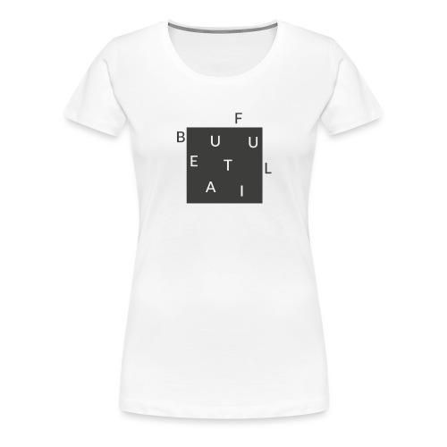 Beautiful Minimal - Hippster - Frauen Premium T-Shirt