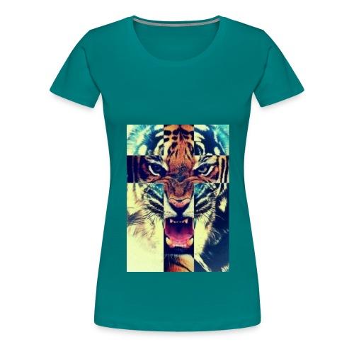 TijgerKruis jpg - Vrouwen Premium T-shirt
