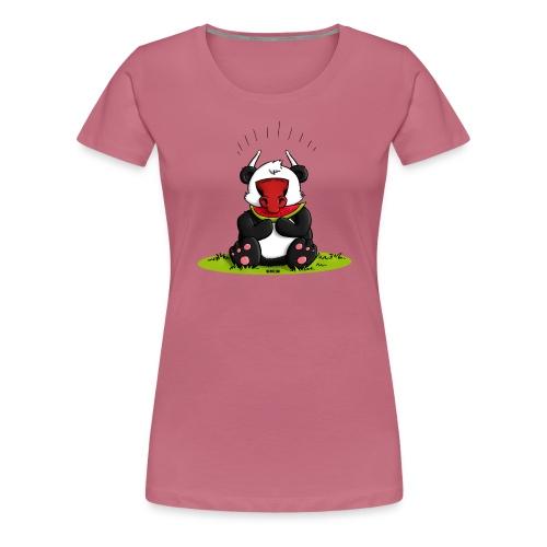 Panda Oxe - Frauen Premium T-Shirt