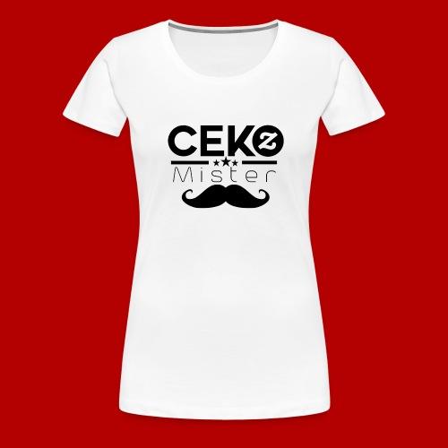 Zeichen schwarz - Frauen Premium T-Shirt