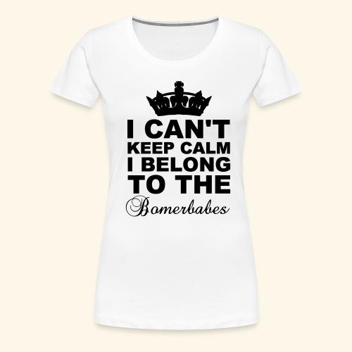 Can t keep calm - Women's Premium T-Shirt