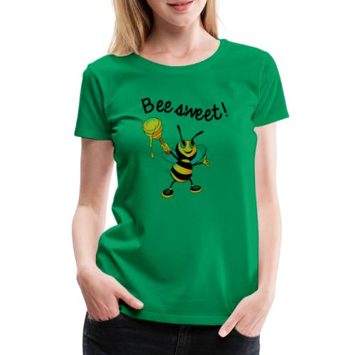 Bees7-2 Bienen sind süß | save the bees - Women's Premium T-Shirt