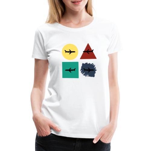Airlines - Camiseta premium mujer