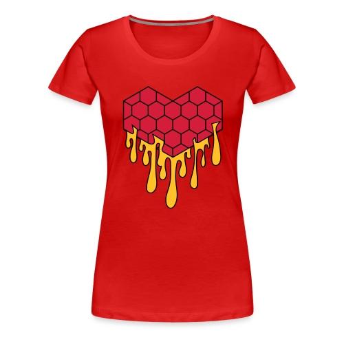 Honey heart cuore miele radeo - Maglietta Premium da donna
