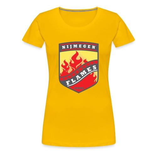 t shirt black - Vrouwen Premium T-shirt