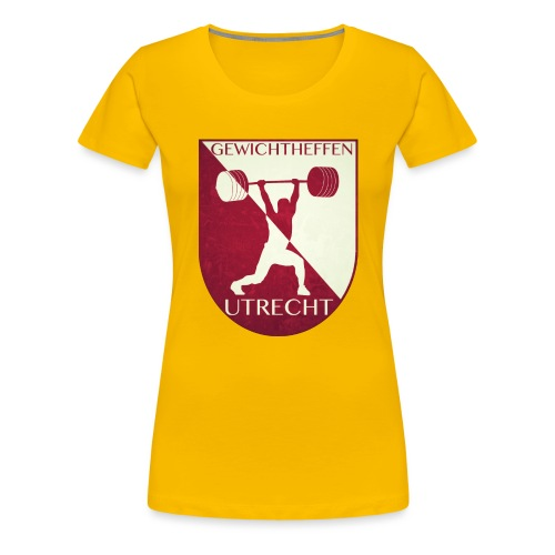 Oldschool Logo - Vrouwen Premium T-shirt