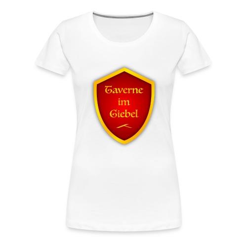 Taverne im Giebel Logo - Frauen Premium T-Shirt