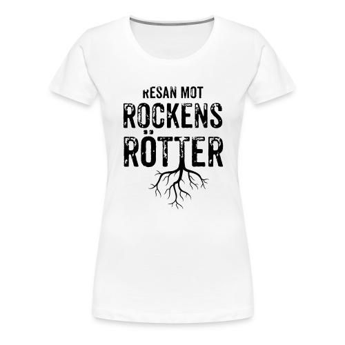 Nallebjörn, Rockens rötter - Premium-T-shirt dam