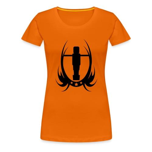 Tischfussball & Kicker - Frauen Premium T-Shirt