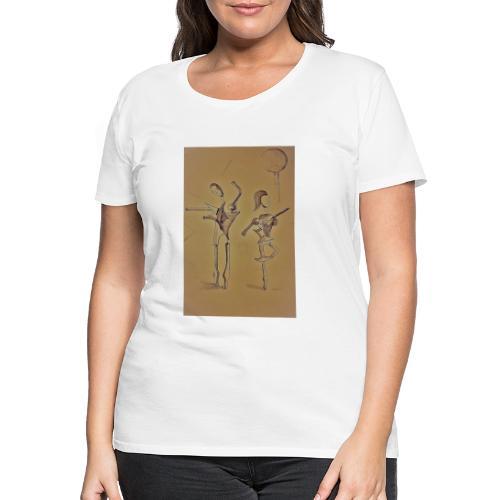 Ballo - sepia - Maglietta Premium da donna