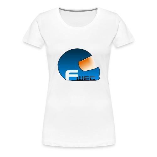 Logo FansWEC - T-shirt Premium Femme