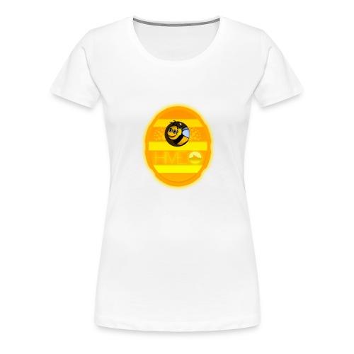 Herre T-Shirt - Med logo - Dame premium T-shirt