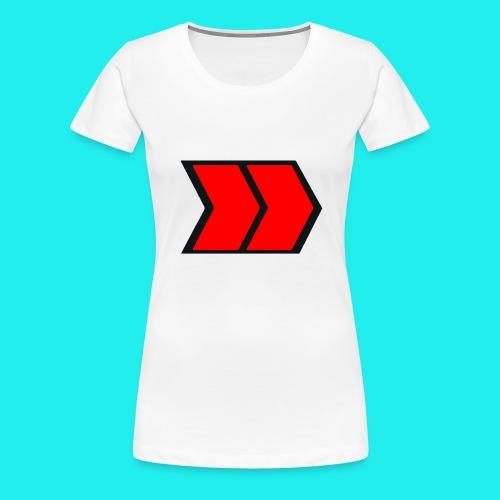 Tapis de souris (format paysage) - T-shirt Premium Femme