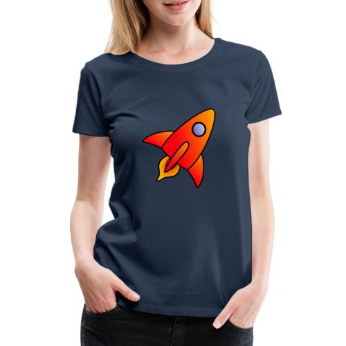 Red Rocket - Women's Premium T-Shirt