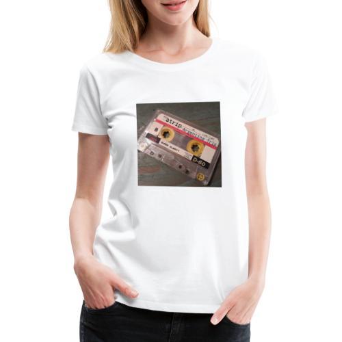 Cassette - Camiseta premium mujer