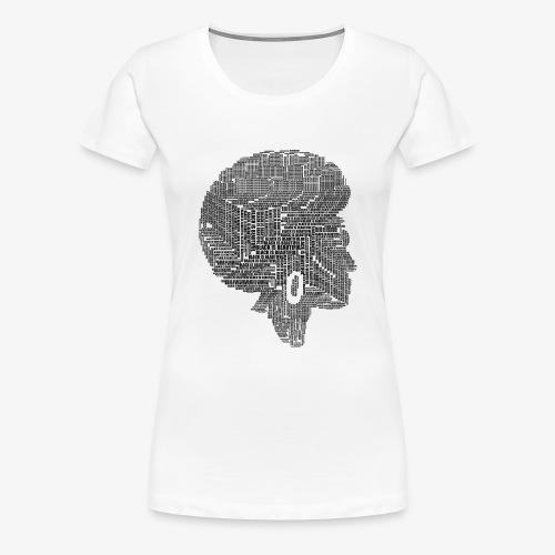Black Is Beautiful Afro - T-shirt Premium Femme