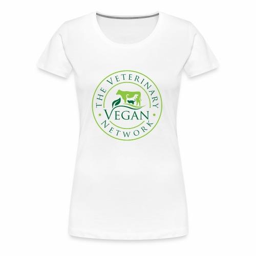 Veterinary Vegan Network Logo - Women's Premium T-Shirt