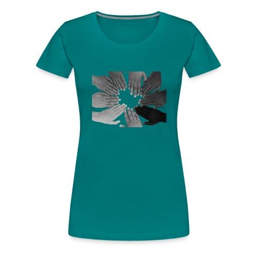 Ein Zeichen setzen - Frauen Premium T-Shirt