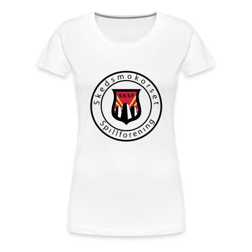 logosirkel ikke - Premium T-skjorte for kvinner