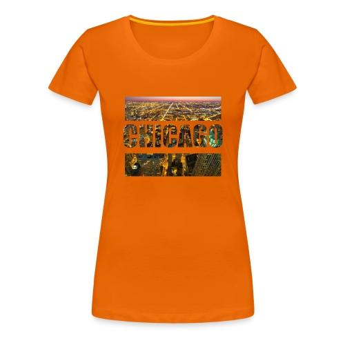 Chicago - Frauen Premium T-Shirt