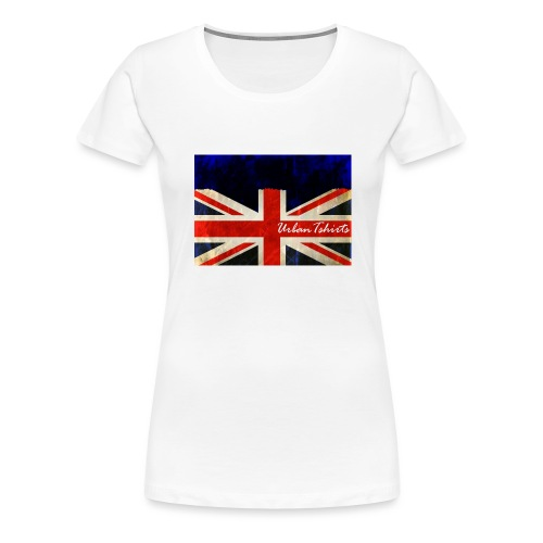 Brittish Flag - Premium-T-shirt dam
