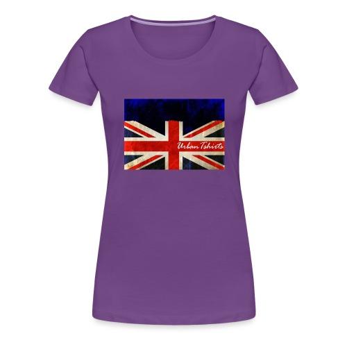 Brittish Flag - Premium-T-shirt dam