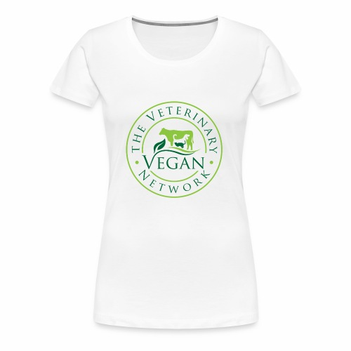 Veterinary Vegan Network Logo - Women's Premium T-Shirt
