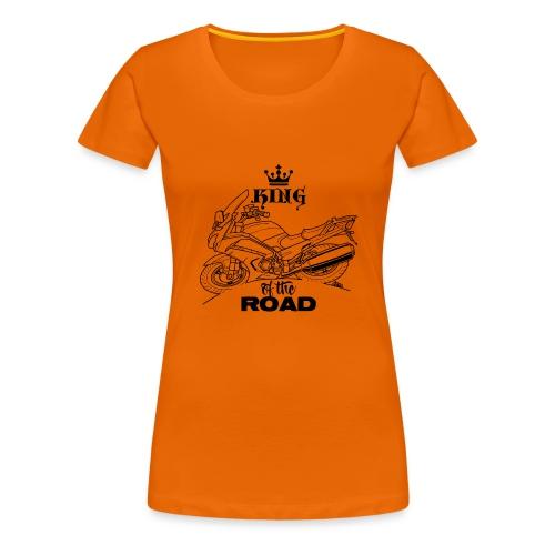 0882 FJR KING of the ROAD - Vrouwen Premium T-shirt