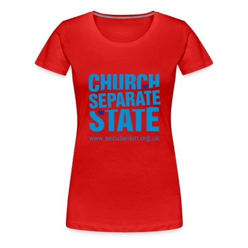 nssshirtchurchstate - Women's Premium T-Shirt